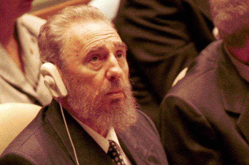 Former Cuban leader Fidel Castro in a photo taken in 2000. cc/ep/Monika Graff UPI