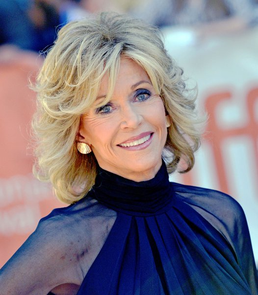 Jane Fonda arrives for the world premiere of 'This Is Where I Leave You' at Roy Thomson Hall during the Toronto International Film Festival in Toronto, Canada on September 7, 2014. UPI/Christine Chew