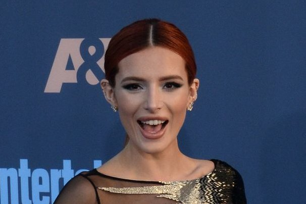 Bella Thorne at the Critics' Choice Awards on December 11. File Photo by Jim Ruymen/UPI