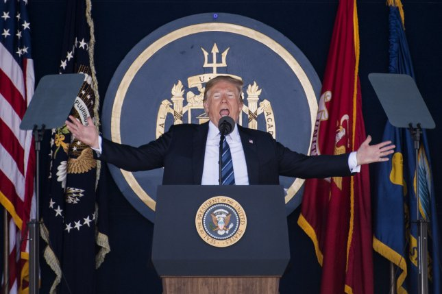 Trump gives commencement address at US Naval Academy