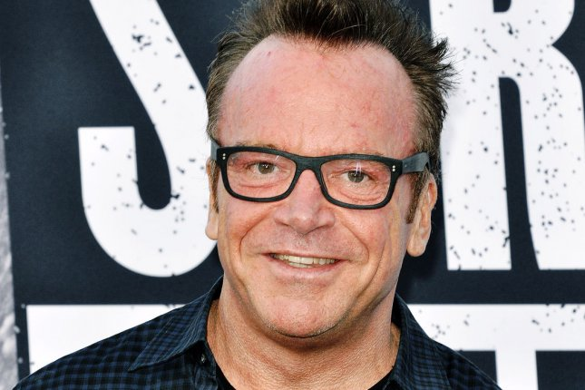 Tom Arnold is taking legal action to end his marriage to wife Ashley Groussman. File Photo by Christine Chew/UPI