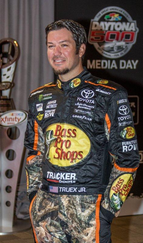 Martin Truex Jr. claimed his third Monster Energy NASCAR Cup Series. Photo by Edwin Locke/UPI