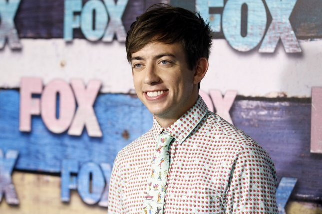Kevin McHale was fêted by former Glee co-stars ahead of his 30th birthday. File Photo by Danny Moloshok/UPI