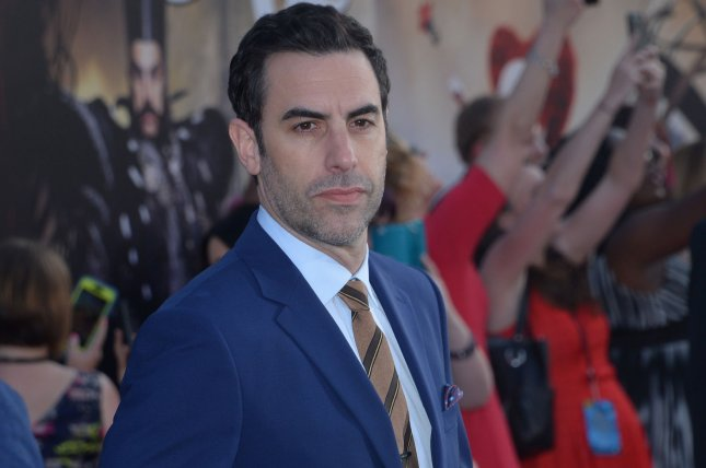 Sacha Baron Cohen's new series Who is America? is to premiere Sunday on Showtime. File Photo by Jim Ruymen/UPI