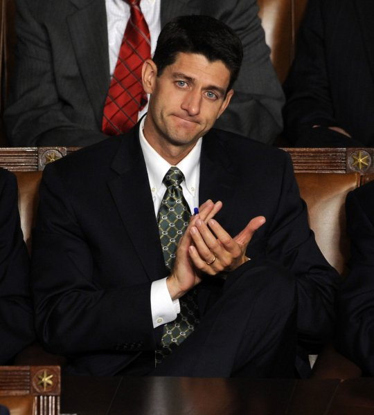House Budget Committee Chairman Rep. Paul Ryan, R-Wis., earlier this year proposed a voucher program that essentially would dismantle Medicare. UPI/Roger L. Wollenberg