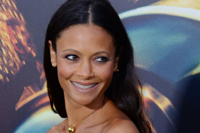 Line of Duty newbie Thandie Newton attends the premiere of Mad Max: Fury Road in Los Angeles on May 7, 2015. File Photo by Jim Ruymen/UPI