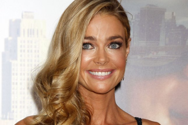 Denise Richards married Aaron Phypers Saturday. File Photo by Laura Cavanaugh/UPI