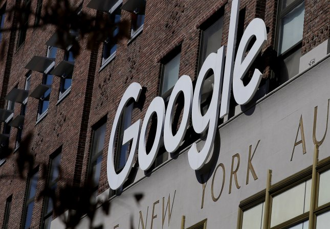 A number of sites and apps hosted on Google cloud experienced outages due to congestion in the northeast United States on Sunday. FIle Photo by John Angelillo/UPI