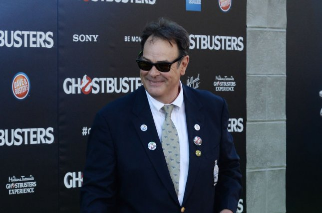 The original Ghostbusters is coming back to theaters in October. Here, Ghostbusters creator Dan Aykroyd attends the premiere of the 2016 Ghostbusters remake for which he was an executive producer. File Photo by Jim Ruymen/UPI