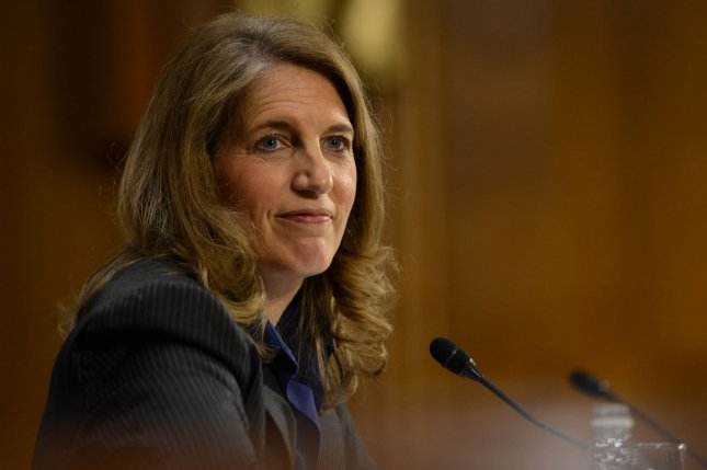 Sylvia Burwell testifies during the Senate Health, Education, Labor and Pensions Committee hearing on the her nomination to be secretary of the Health and Human Services Department, on Capitol Hill in Washington D.C. on May 8, 2014. UPI/Molly Riley