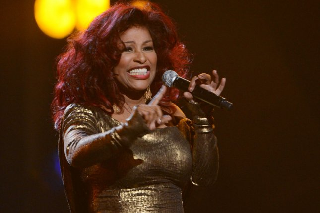 Chaka Khan performs during BET Awards 12, at the Shrine Auditorium in Los Angeles on July 1, 2012. File Photo by Jim Ruymen