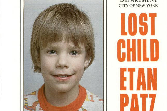 The Police Department of New York City supplied this poster in 2012 of missing Manhattan schoolboy Etan Patz, who disappeared on his way to school in May 1979. Pedro Hernandez was tried and convicted of the boy's death and sentenced to 25 years to life on Tuesday. File Photo courtesy NYPD/UPI