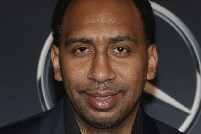 Stephen A. Smith arrives on the red carpet in 2016 for ESPN The Party in San Francisco, Calif. File photo by John Angelillo/UPI