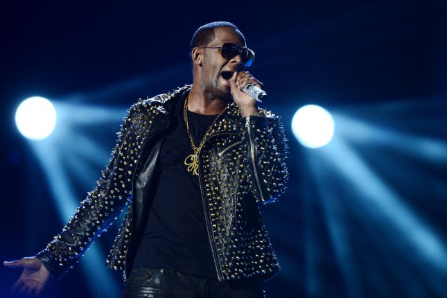 Singer R. Kelly faced a five-count federal indictment in New York City Friday. File Photo by Jim Ruymen/UPI