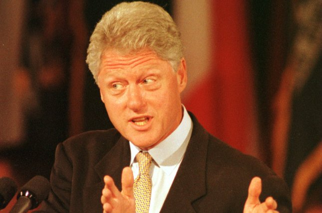 On July 29, 1999, a federal judge in Little Rock, Ark., fined U.S. President Bill Clinton $89,000 for lying about his relationship with former White House intern Monica Lewinsky in his deposition in the Paula Jones sexual harassment case. File Photo by Bill Greenblatt/UPI