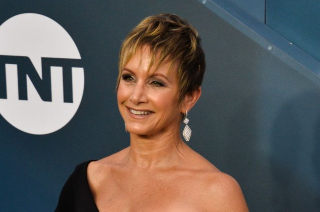 SAG-AFTRA president Gabrielle Carteris gave an update on COVID-19 safety protocols amid a surge in coronavirus cases in Los Angeles County. File Photo by Jim Ruymen/UPI