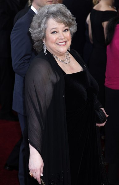 Actress Kathy Bates arrives on the red carpet at the 82nd Academy Awards in Hollywood on March 7, 2010. UPI/David Silpa