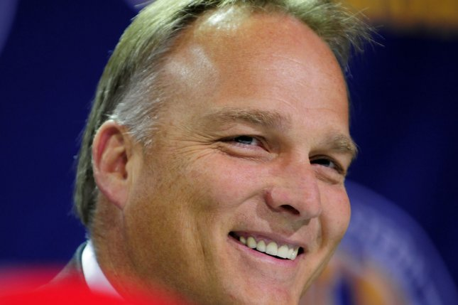 Former University of Miami head football coach Mark Richt says that he has no current plans to return to coaching after stepping away from the Hurricanes program. File Photo by David Tulis/UPI Photo