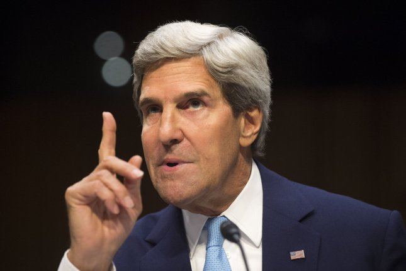 Secretary of State John Kerry. UPI/Kevin Dietsch