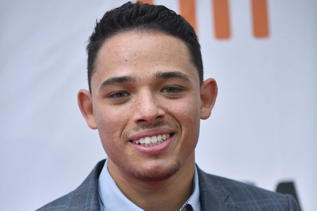 Anthony Ramos will star as Usnavi in Lin Manuel-Miranda's In The Heights. Photo by Christine Chew/UPI