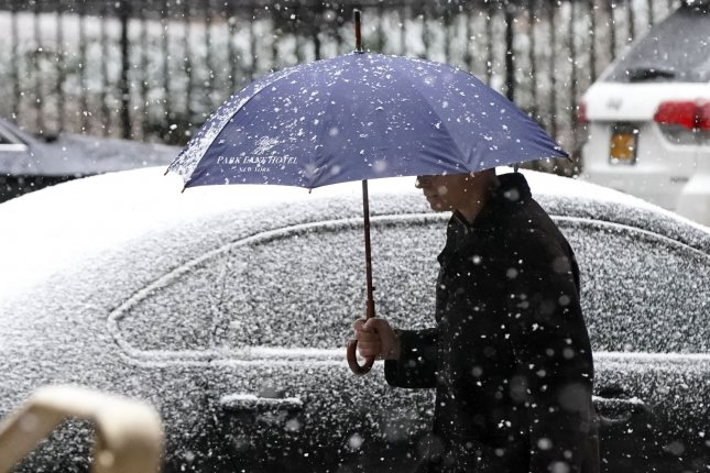 Winter storm watches were in effect across portions of Minnesota and Wisconsin.File Photo by John Angelillo/UPI