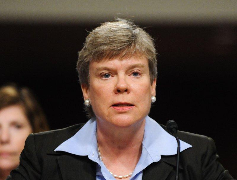 Rose E. Gottemoeller, assistant secretary of state, speaks at a Senate hearing in Washington July 29, 2010. UPI/Alexis C. Glenn