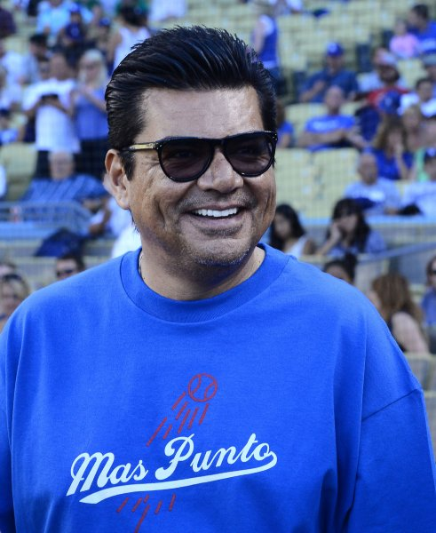 Actor George Lopez joked about passing out drunk at Canadian casino. UPI/Jim Ruymen