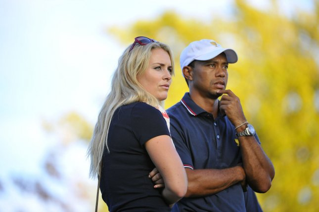 Olympic skier Lindsey Vonn reportedly dismissed questions about her recent breakup with golf superstar Tiger Woods in order to talk more about her goals for the upcoming Winter Olympic Games. Photo by Brian Kersey/UPI