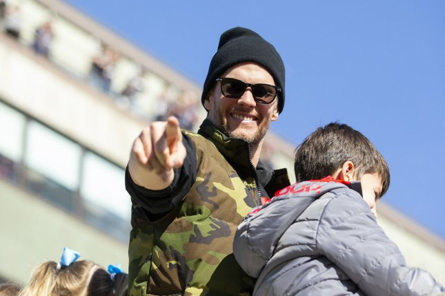 Patriots quarterback Tom Brady gained more than 100,000 followers during his first day on Twitter. File Photo by Matthew Healey/UPII