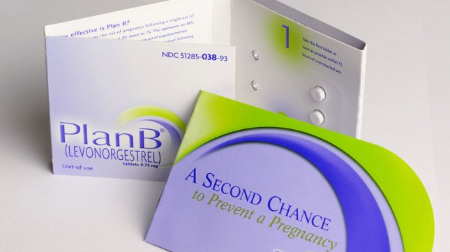 The Plan B emergency contraceptive is seen in an undated handout photo. (UPI Photo/Handout)