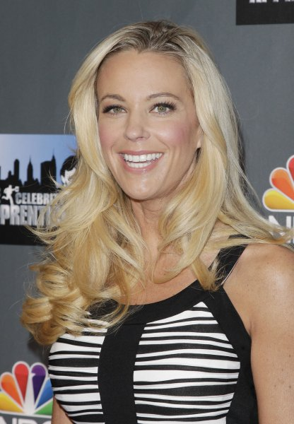 Kate Gosselin at The Celebrity Apprentice Season 14 press conference on March 20, 2014. Gosselin said sending her son, Collin, to a live-in learning facility was necessary. File Photo by John Angelillo/UPI