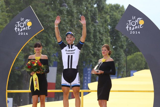 Marcel Kittel wins his fifth stage of the Tour de France