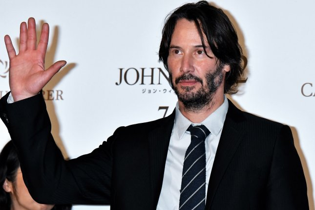 Actor Keanu Reeves attends the Japan premiere for the film John Wick: Chapter 2 in Tokyo on June 13, 2017. Starz is working on a TV series set in the film's universe. File Photo by Keizo Mori/UPI