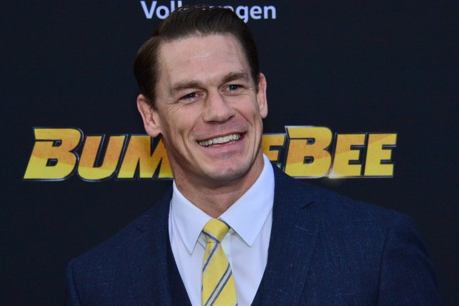WWE star and actor John Cena attends the premiere of Bumblebee on December 2018. Fox Sports has teamed up with WWE to offer WrestleMania 36 through the Fox Sports App and FoxSports.com. File Photo by Jim Ruymen/UPI
