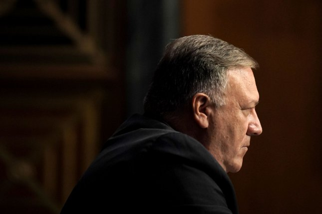 Secretary of State Michael Pompeo said Wednesday the United States has launched a new campaign to protect the private data of American citizens and U.S. companies from the Chinese Communist Party. Photo by Greg Nash/UPI