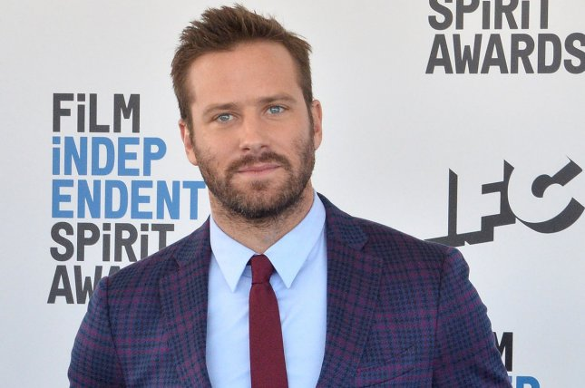 Armie Hammer has been let go from film Billion Dollar Spy after the actor was accused of sexual assault. File Photo by Jim Ruymen/UPI