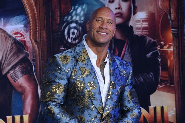 Dwayne Johnson will voice Krypto the Super-Dog in the animated DC film DC League of Super-Pets. File Photo by Jim Ruymen/UPI