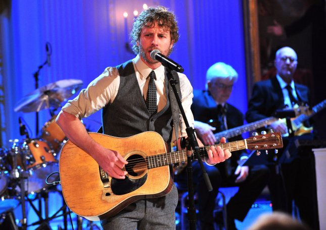 Dierks Bentley performs during a celebration of country music concert at the White House in Washington on November 21, 2011. A series of country music legends and contemporary artist performed for the President and invited guests. UPI/Kevin Dietsch