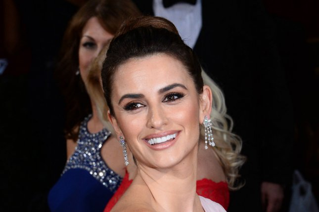 Penelope Cruz at the Academy Awards on March 2, 2014. The actress and Lily Collins stunned at the Lancôme 80th anniversary party Monday. File photo by Jim Ruymen/UPI