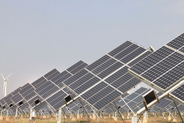 Solar power not a cost competitive option when compared with other renewable resources, New Zealand minister says. File photo by Stephen Shaver/UPI.