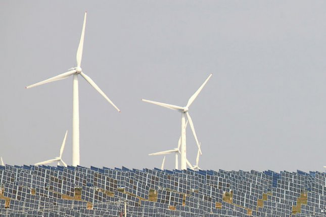 The French government has received European approval to move ahead with an investment scheme for wind and solar power. File photo by Stephen Shaver/UPI