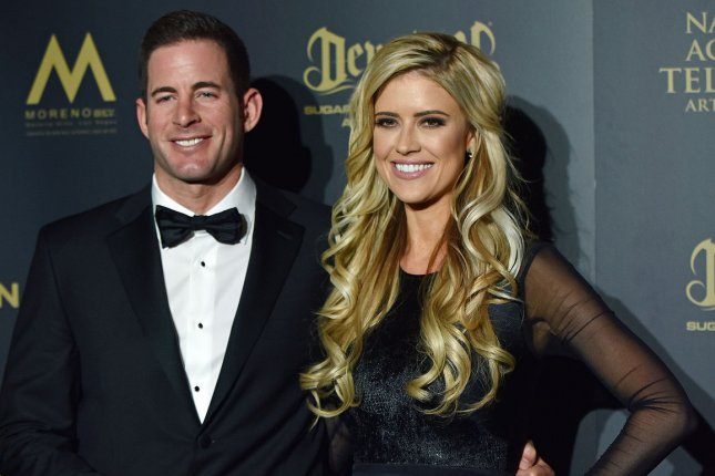 Ex-spouses Tarek El Moussa (L) and Christina El Moussa will return Thursday in a new season of Flip or Flop. File Photo by Christine Chew/UPI
