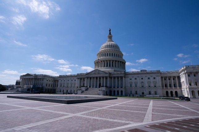 The U.S. Capitol may only be accessed by members of Congress, their staff, the press and those there on official business. Photo by Kevin Dietsch/UPI