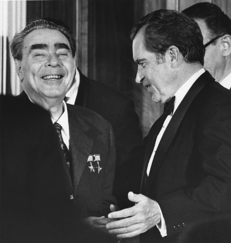 Richard Nixon In Color: President Nixon Honored On 99th Birthday