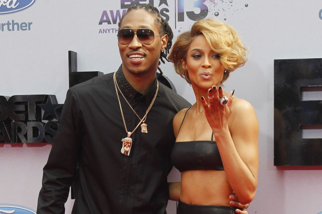 Future (L) and Ciara attend the BET Awards on June 30, 2013. The rapper discussed Ciara in the April 1-7 issue of Billboard. File Photo by Alex Gallardo/UPI