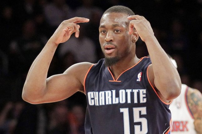 Kemba Walker led the Hornets with 31 points and nine assists as the Charlotte Hornets pounced on the Phoenix Suns quickly on Sunday afternoon and rolled to a 120-106 victory at the Spectrum Center. File Photo by John Angelillo/UPI