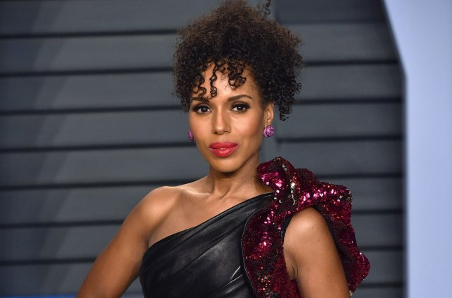 Kerry Washington said on social media that I am filled with endless gratitude, following the finale of Scandal. File Photo by Christine Chew/UPI