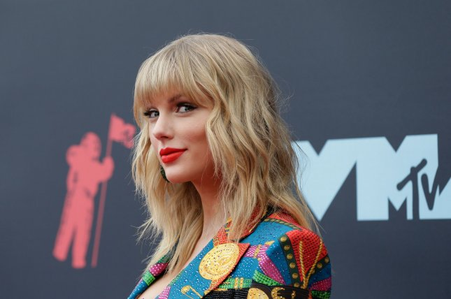Pop star Taylor Swift's Lover, which was No. 1 on the Billboard 200 last week, has dropped to No. 2.File Photo by John Angelillo/UPI