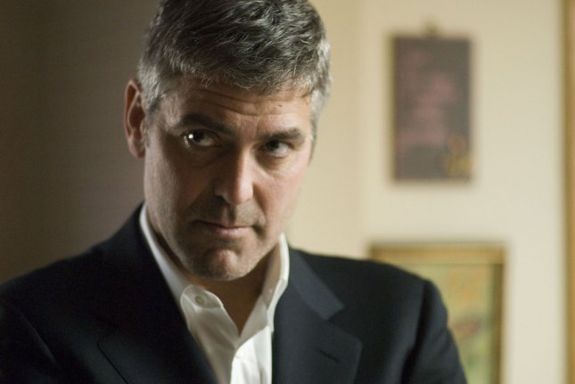 This publicity photo from the film Michael Clayton provided by the film studio Warner Bros. shows George Clooney, the nominee for best actor for the 80th annual Academy Awards in Beverly Hills, California early Tuesday morning, January 22, 2008. (UPI Photo/Myles Aronowitz)