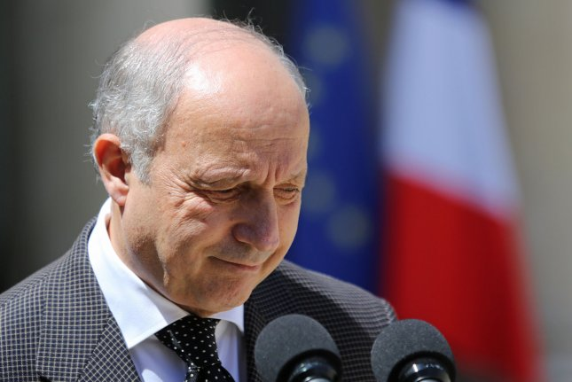 French Foreign Minister Laurent Fabius on Wednesday said he was resigning after serving nearly four years in the position. Fabius previously served as the youngest French prime minister in the mid-1980s. File photo by David Silpa/UPI